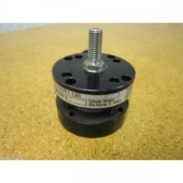 Parker 01.124FLPS 3 0.500 Pneumatic Cylinder 250PSI New Old Stock