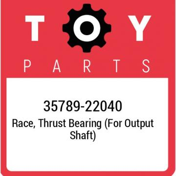 35789-22040 Toyota Race, thrust bearing (for output shaft) 3578922040, New Genui
