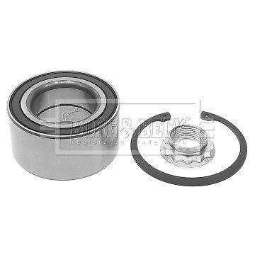 Wheel Bearing Kit fits BMW 125 E88 3.0 Rear 08 to 13 N52B30A B&B 33416762317 New