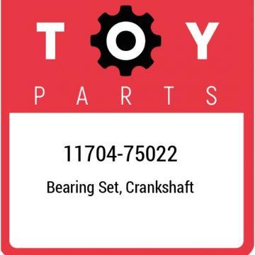11704-75022 Toyota Bearing set, crankshaft 1170475022, New Genuine OEM Part
