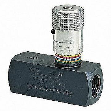 PARKER Flow Control Valve,Steel,3/8-18,8 GPM, F600S