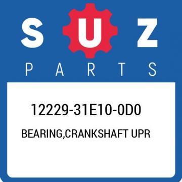 12229-31E10-0D0 Suzuki Bearing,crankshaft upr 1222931E100D0, New Genuine OEM Par
