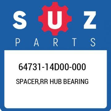 64731-14D00-000 Suzuki Spacer,rr hub bearing 6473114D00000, New Genuine OEM Part